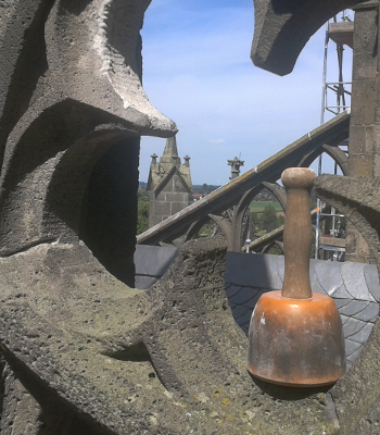 Steinmetzarbeiten am Xantener Dom